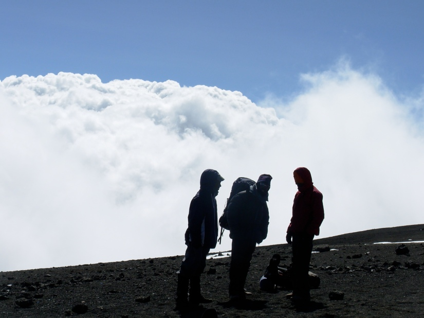 The highest point in Africa